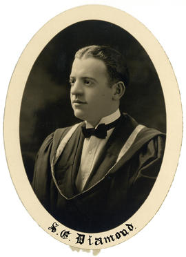 Portrait of Samuel Eugene Diamond : Class of 1926