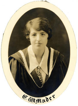 Portrait of Eva Waddell Mader : Class of 1927