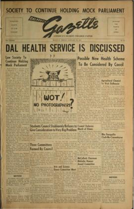Dalhousie Gazette, Volume 83, Issue 21