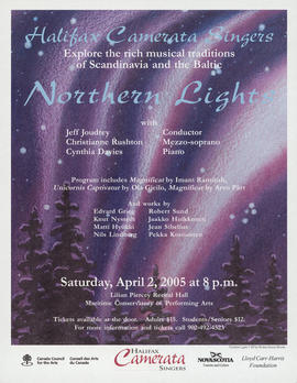 Northern lights with Christianne Rushton : [poster]