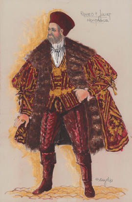 Costume design for Montague