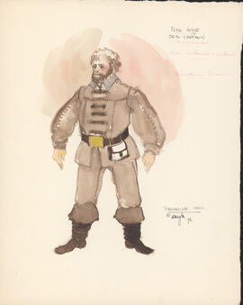 Costume design for Sea Captain