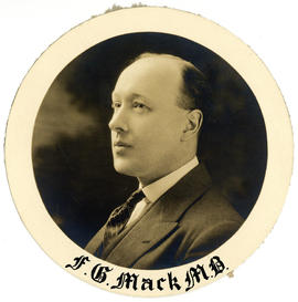 Portrait of Frank G. Mack