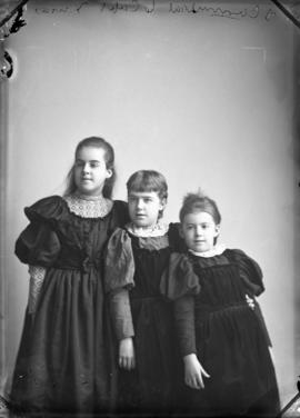 Photograph of J. Carmichael's daughters
