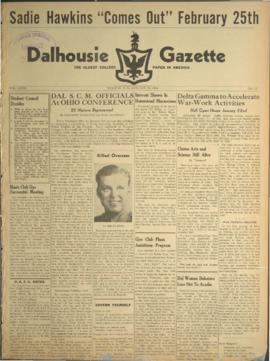 Dalhousie Gazette, Volume 76, Issue 11
