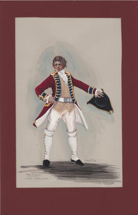 Costume design for Jack Absolute