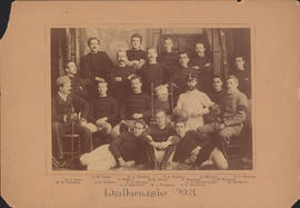 Photograph of Dalhousie 1893 - Football Team
