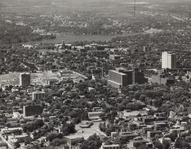 Aerial photograph of Halifax