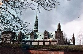 Photograph of Kronborg Castle (Slot) from the outside