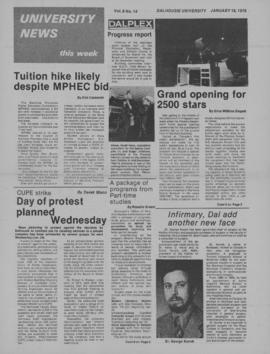University News, Volume 9, Issue 14