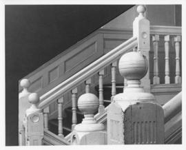 Photograph of banisters