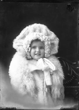 Photograph of the daughter of Mr. Waldren