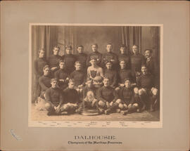 Photograph of Dalhousie - Champions of the Maritime Provinces - Football Team