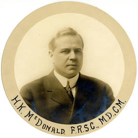 Portrait of H.K. MacDonald