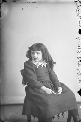 Photograph of Mrs. McKay's daughter