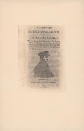 Engraving of Authentic Confessions of William Burk : [1829]