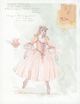 Costume design for Princesses : Act 2