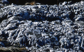 Photograph of rock formations in Cape Dorset, Northwest Territories