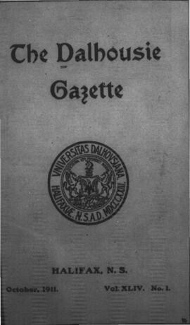 The Dalhousie Gazette, Volume 44, Issue 1