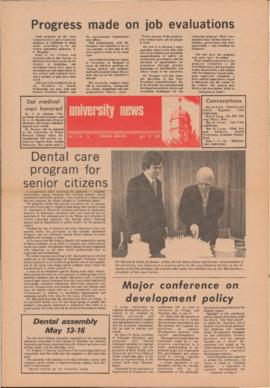 University News, Volume 3, Issue 15