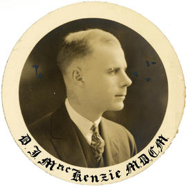Portrait of D.J. MacKenzie