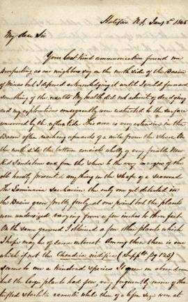 Letter to William Henry Harvey