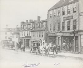 Photograph of Barrington St. opposite Parade