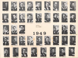 Composite Photograph of the Faculty of Medicine - Class of 1949