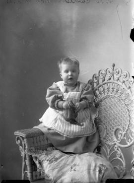 Photograph of  Mrs. Cantley's baby