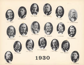 Composite Photograph of the Faculty of Medicine - Class of 1930