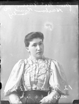Photograph of Miss McGarry