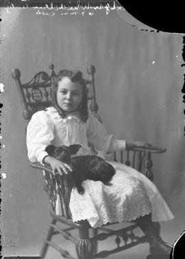 Photograph of Mrs. Edgar Whidden's daughter