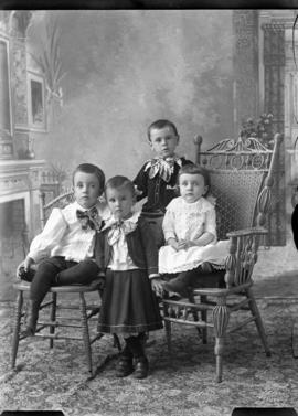 Photograph of W. A. Robinson's children