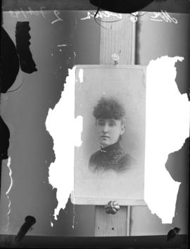 Photograph of Mrs. Evans