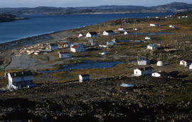 Photograph of houses in Cape Dorset, Northwest Territories