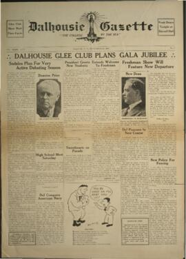 Dalhousie Gazette, Volume 69, Issue 1