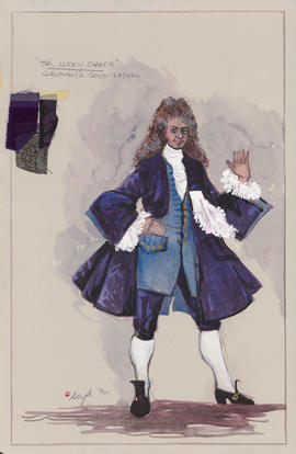 Costume design for Gayman's good clothes