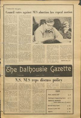 The Dalhousie Gazette, Volume 106, Issue 16