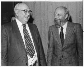 Photograph of Dr. Ketchum and Dr. Gordon A. Riley
