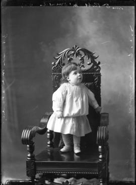 Photograph of the son of Mrs. and Dr. Robert McDonald