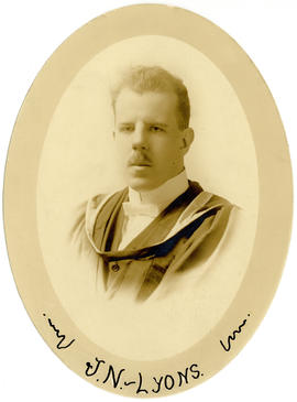 Portrait of James Norbert Lyons : Class of 1916