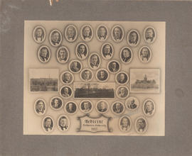 Composite Photograph of the Faculty of Medicine - Class of 1935