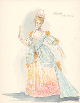 Costume design for Armande : second costume
