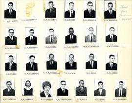 Composite Photograph of Faculty of Medicine First Year Class 1964-1965 - Acres to Higgins
