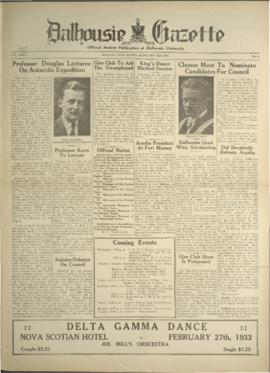 Dalhousie Gazette, Volume 65, Issue 16