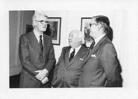 Photograph of Lloyd MacPherson, Henry Hicks, and J. D. Hatcher