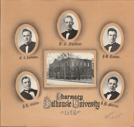 Collage of Dalhousie University Pharmacy class of 1942