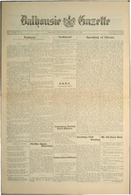 Dalhousie Gazette, Volume 58, Issue 17