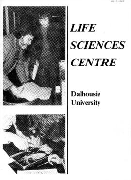 Pamphlet about the Life Sciences Centre