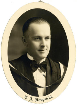 Portrait of Thomas Alexander Kirkpatrick : Class of 1929